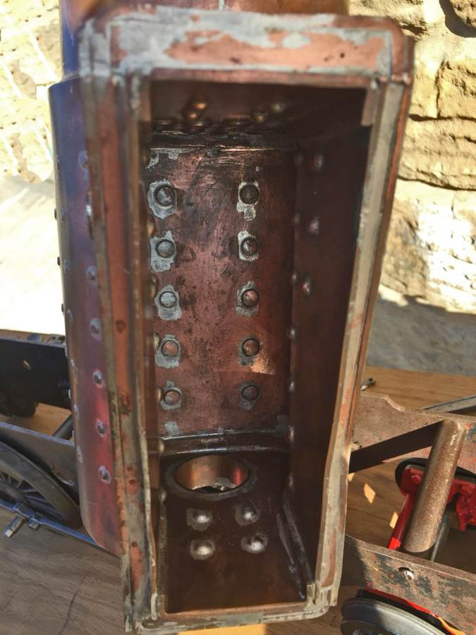 test 3 and a half inch Class 4 Tank Martin Evans Jubilee Live Steam For Sale (16)