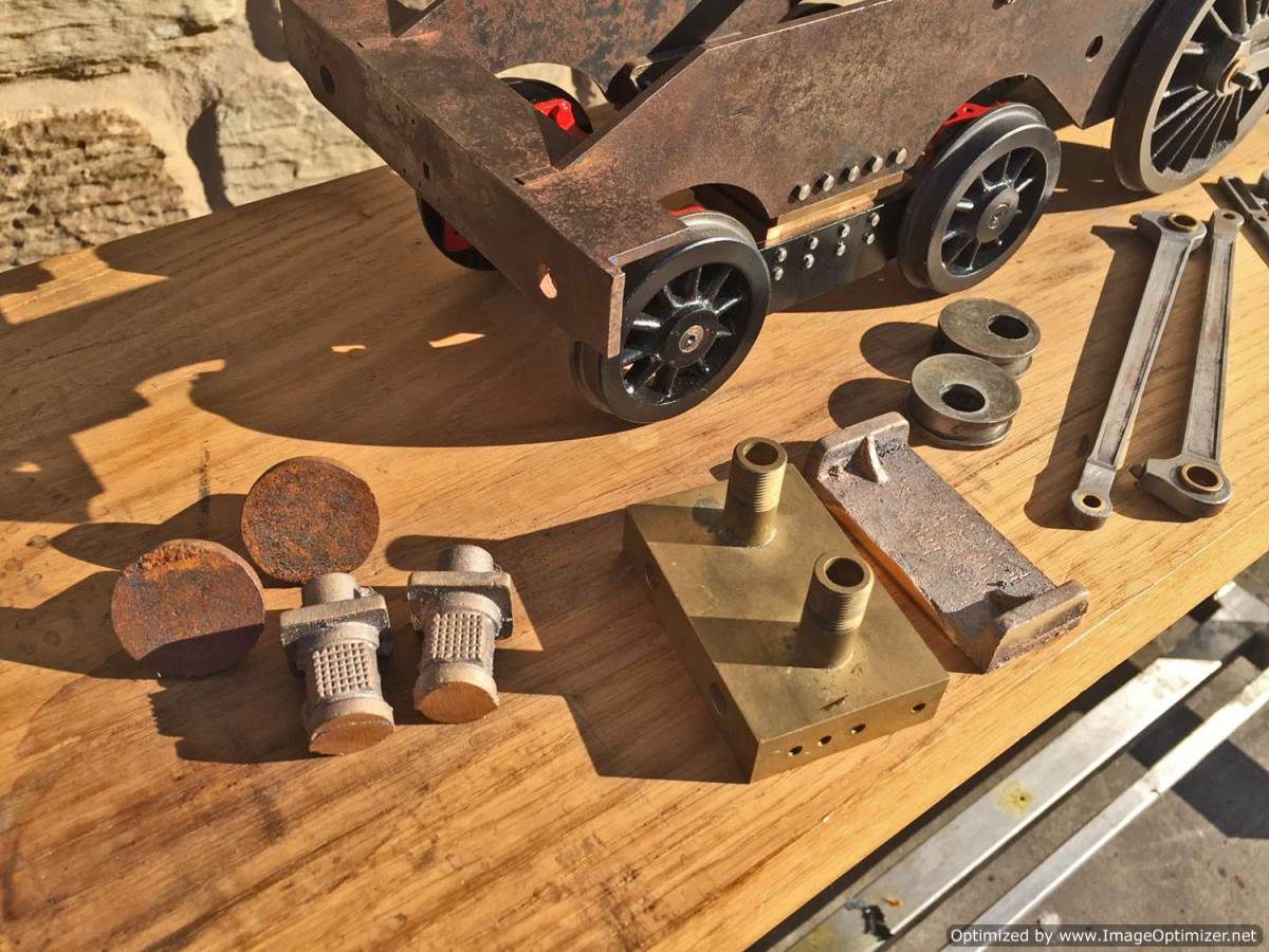 test 3 and a half inch Class 4 Tank Martin Evans Jubilee Live Steam For Sale (2)
