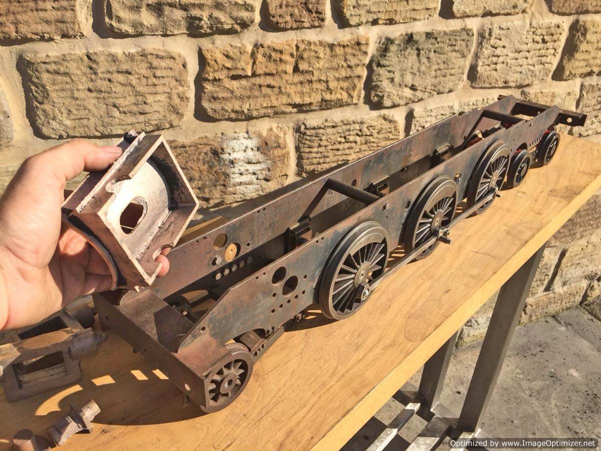 test 3 and a half inch Class 4 Tank Martin Evans Jubilee Live Steam For Sale (20)