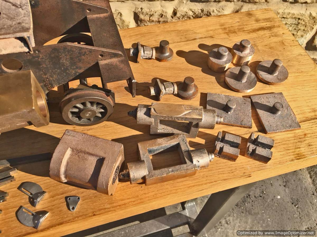 test 3 and a half inch Class 4 Tank Martin Evans Jubilee Live Steam For Sale (5)