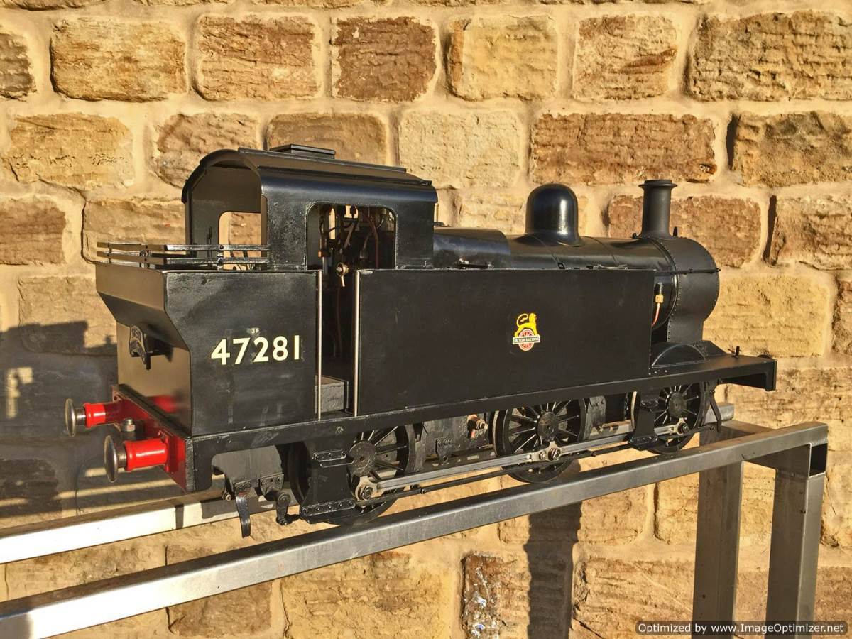 test 5 inch LMS 3F live steam for sale (1)