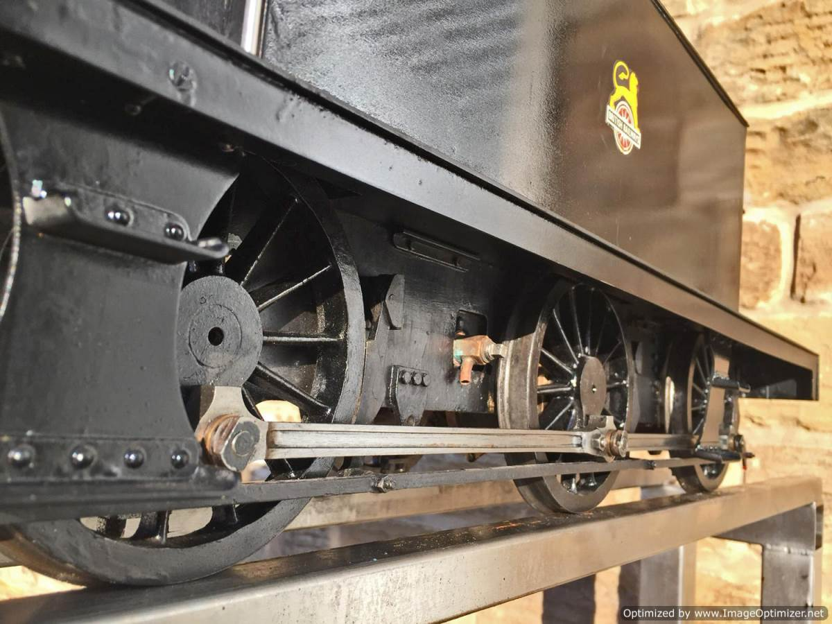test 5 inch LMS 3F live steam for sale (10)