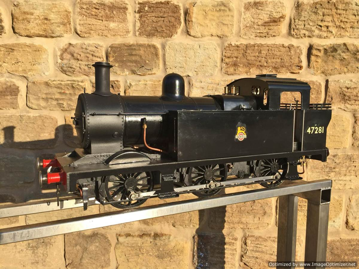 test 5 inch LMS 3F live steam for sale (12)