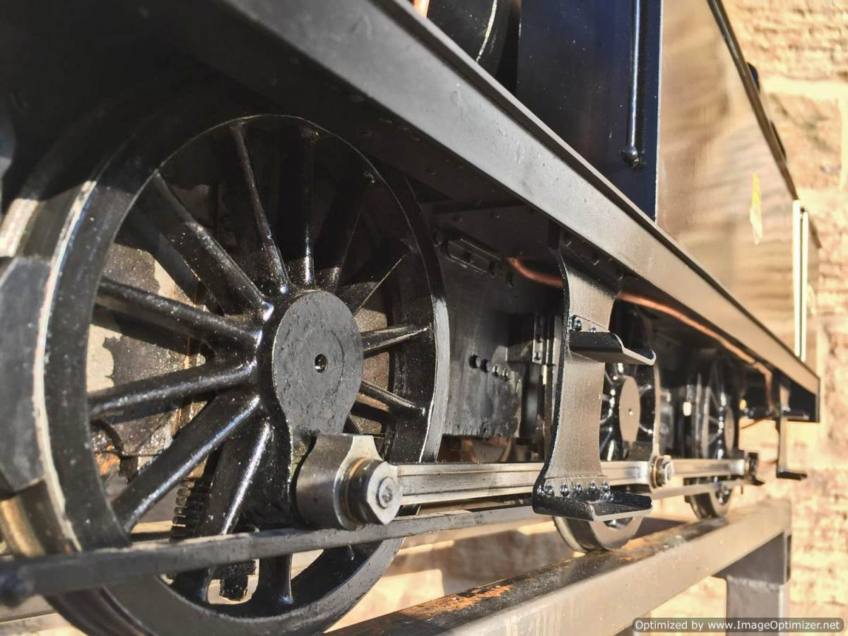 test 5 inch LMS 3F live steam for sale (14)