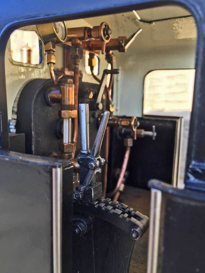 test 5 inch LMS 3F live steam for sale (15)