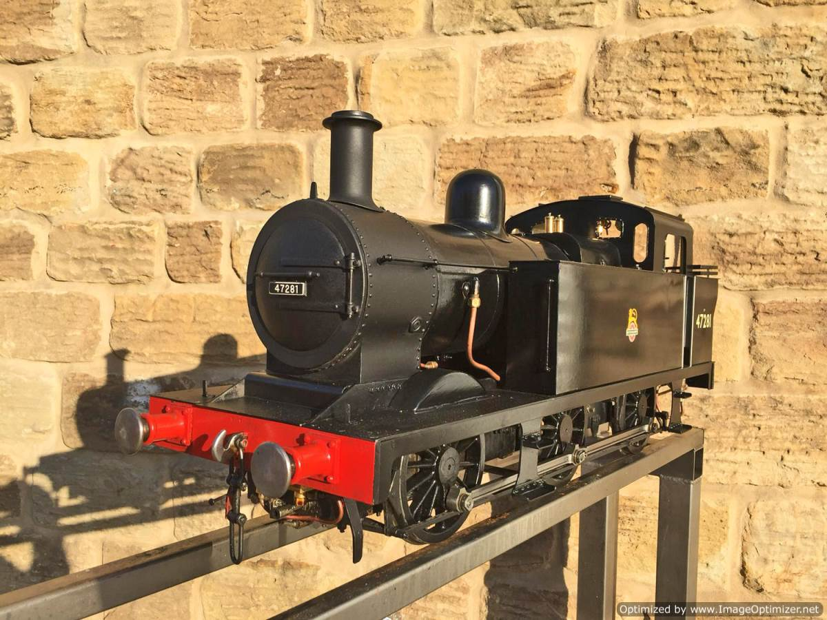 test 5 inch LMS 3F live steam for sale (8)