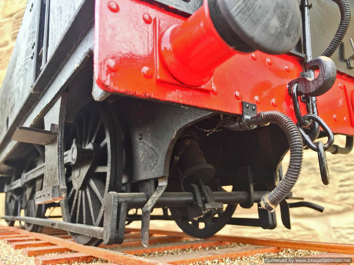 test 5 inch gauge LMS 3F Jinty live steam locomotive for sale (13)