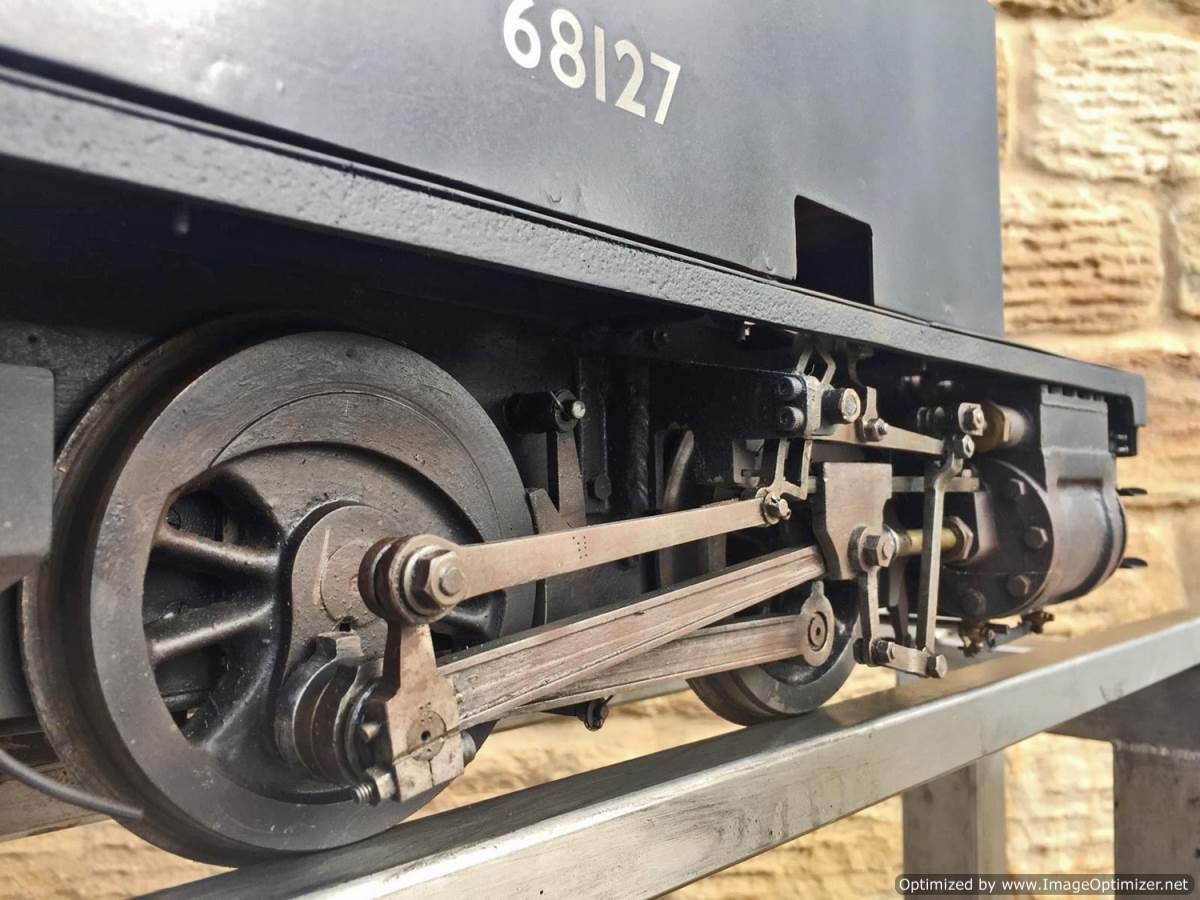 test 5 inch gauge LNER Y4 live steam locomotive for sale (10)