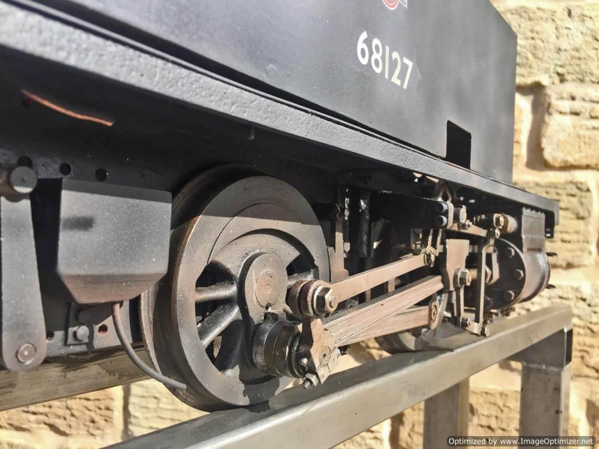test 5 inch gauge LNER Y4 live steam locomotive for sale (13)