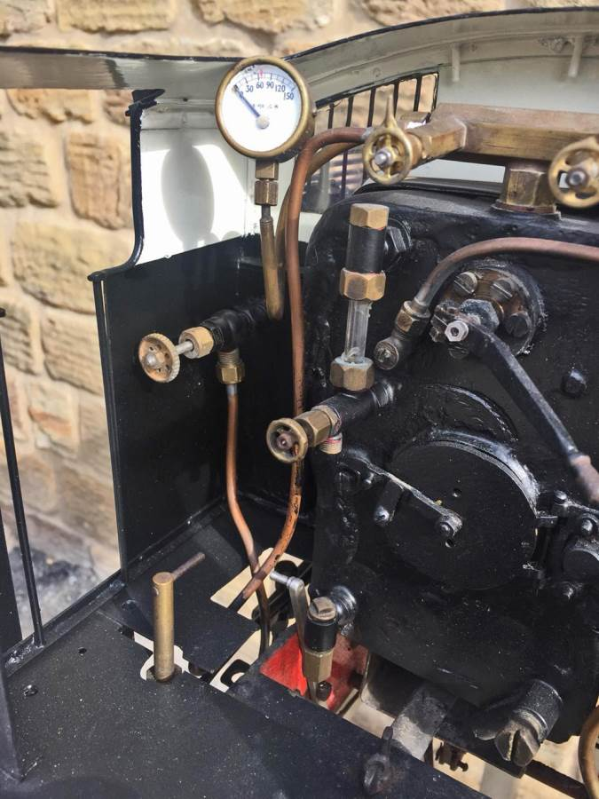 test 5 inch gauge LNER Y4 live steam locomotive for sale (15)