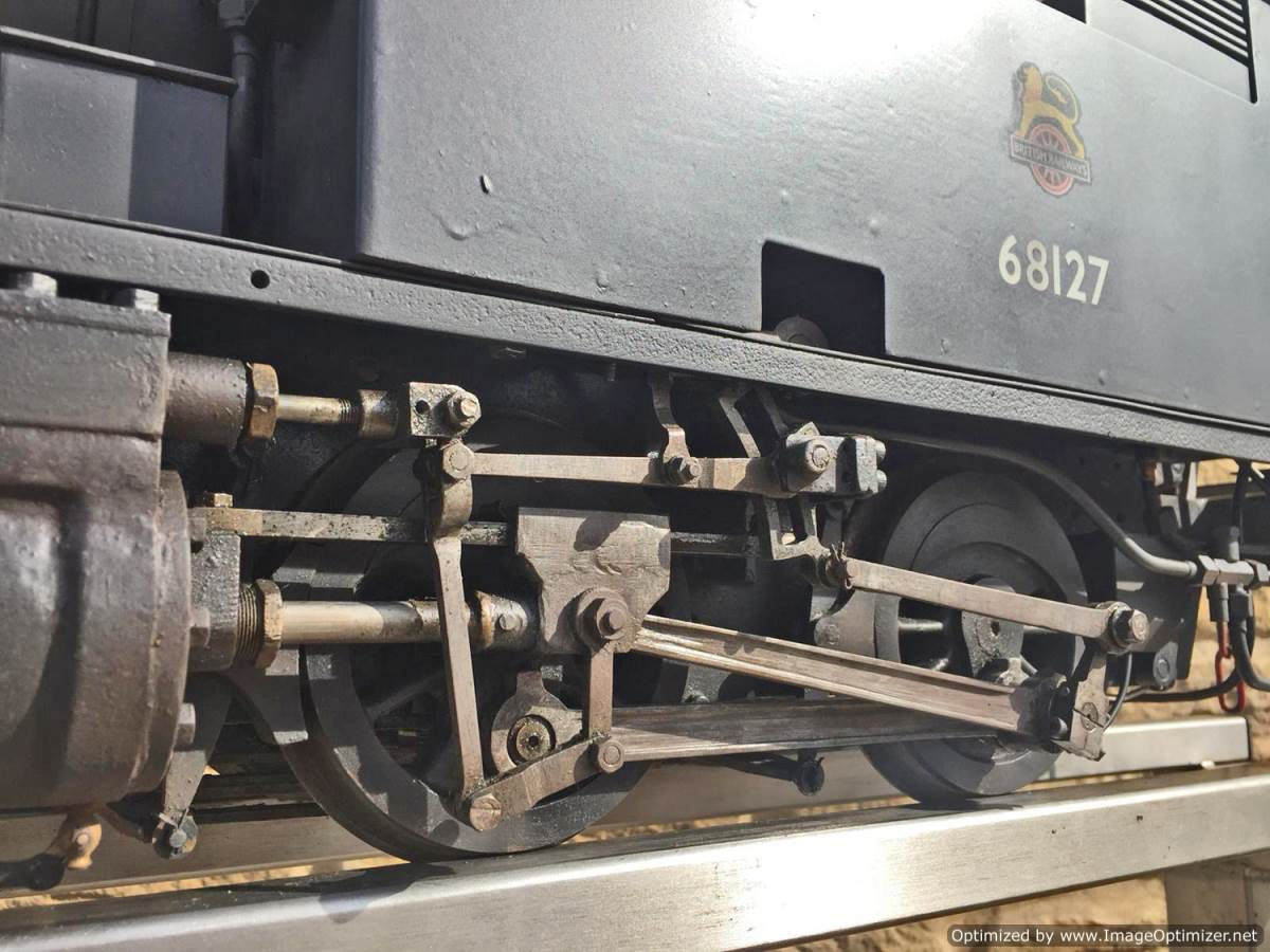test 5 inch gauge LNER Y4 live steam locomotive for sale (6)