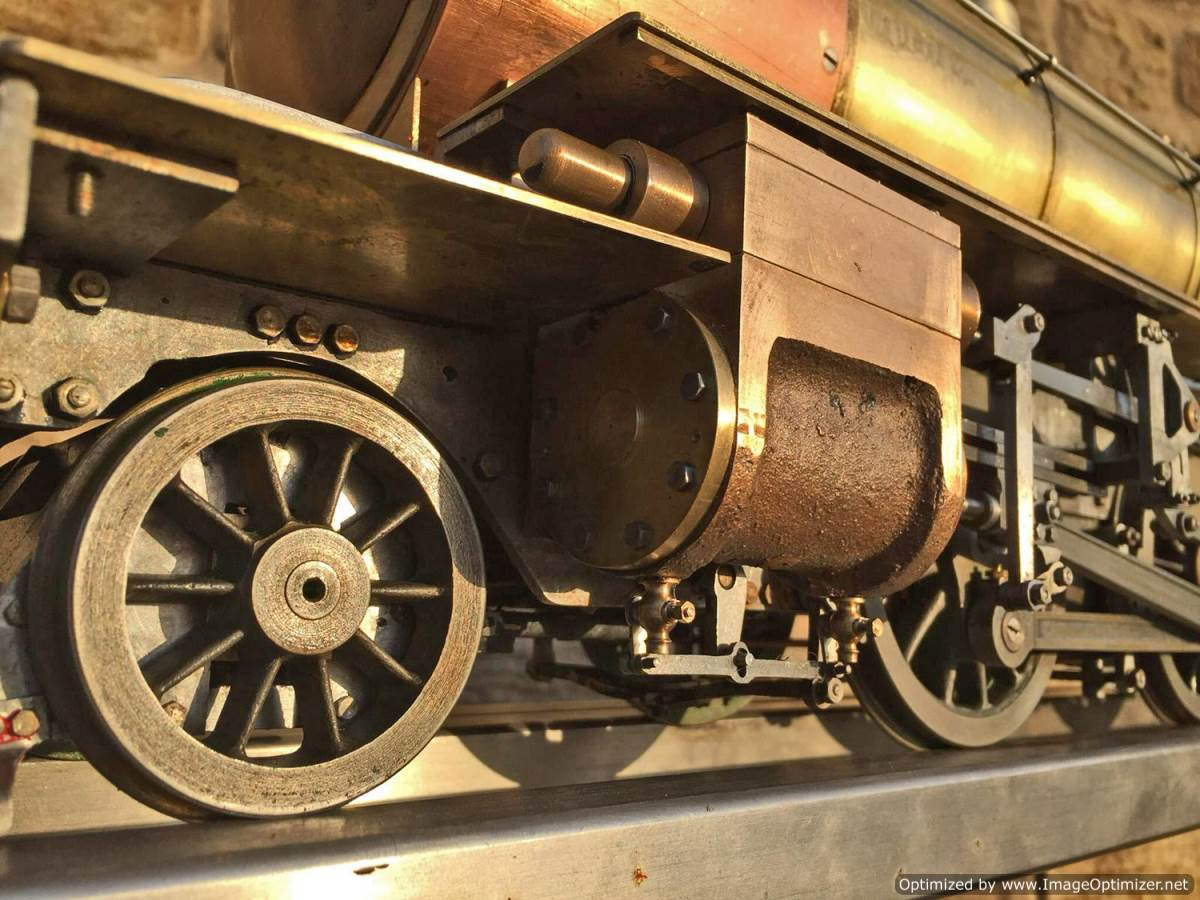 test 3 and a half inch LNER K1 live steam locomotive for sale (2)