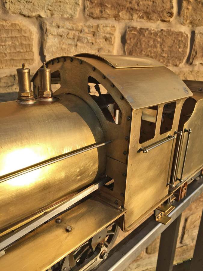 test 3 and a half inch LNER K1 live steam locomotive for sale (5)