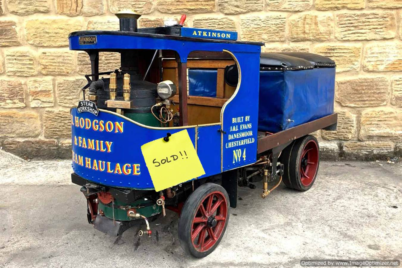 test 3-inch-scale-Atkinson-Undertype-Steam-Lorry-live-steam-SOLD
