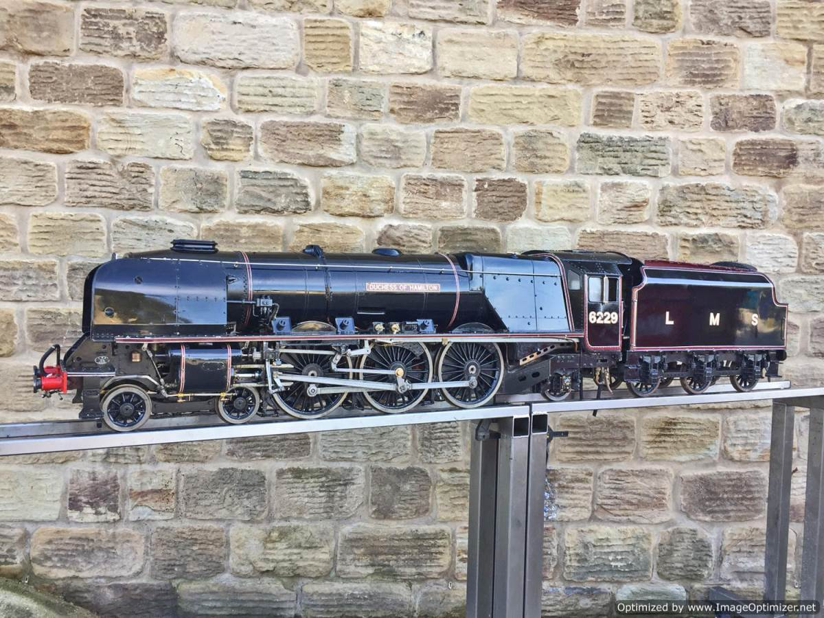 test 5 inch LMS Duchess Live Steam For Sale (1)
