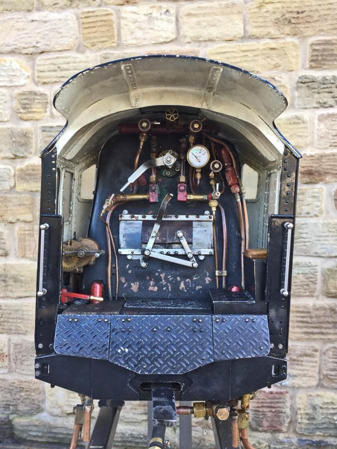 test 5 inch LMS Duchess Live Steam For Sale (17)