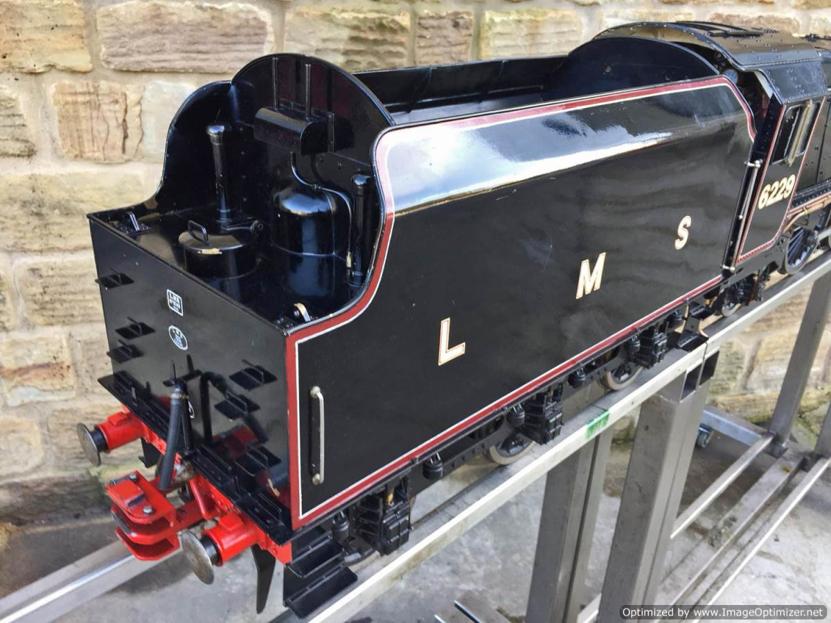 test 5 inch LMS Duchess Live Steam For Sale (23)