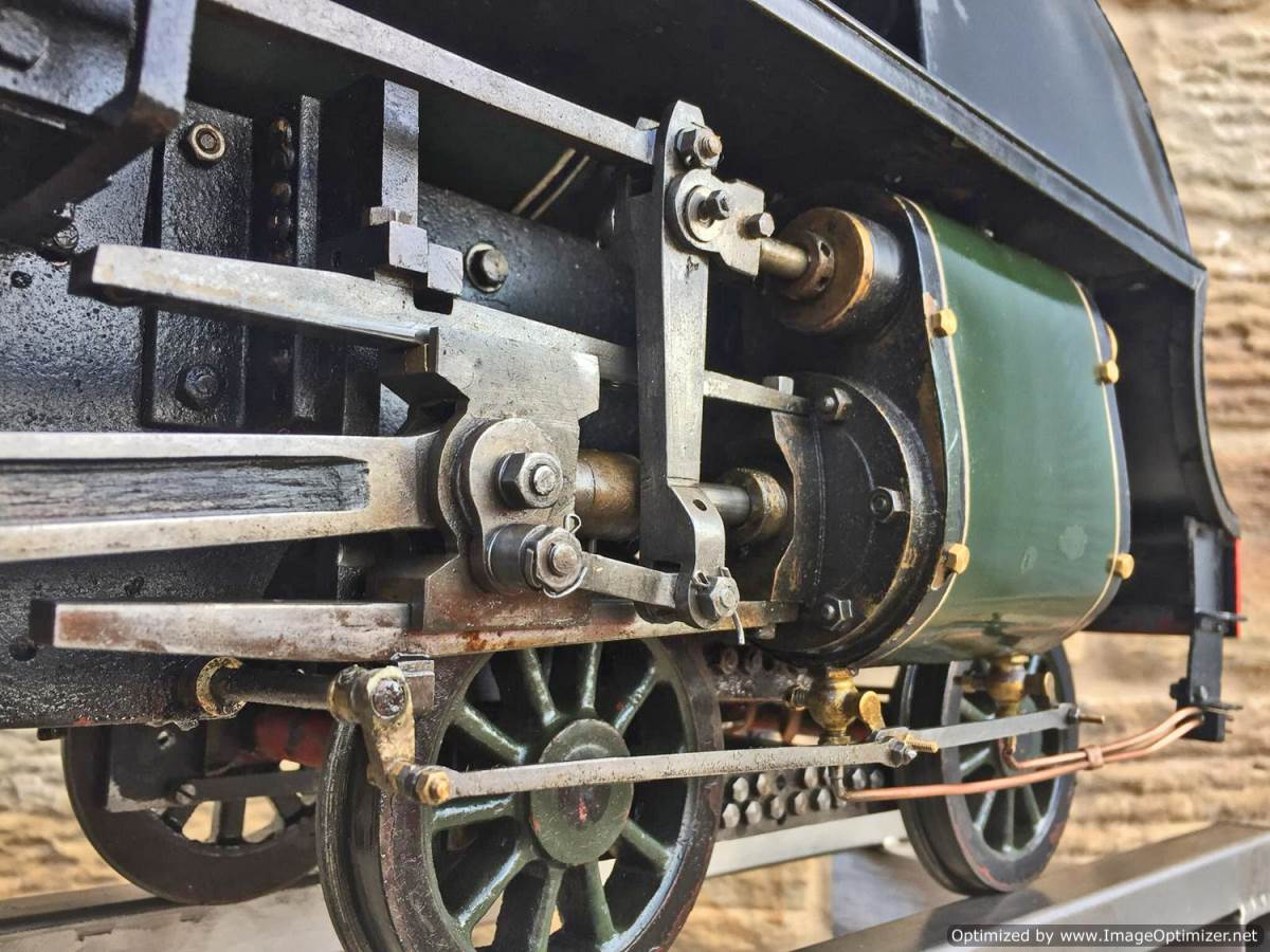 test 5 inch gauge Southern Railway King Arthur Live Steam for Sale (19)