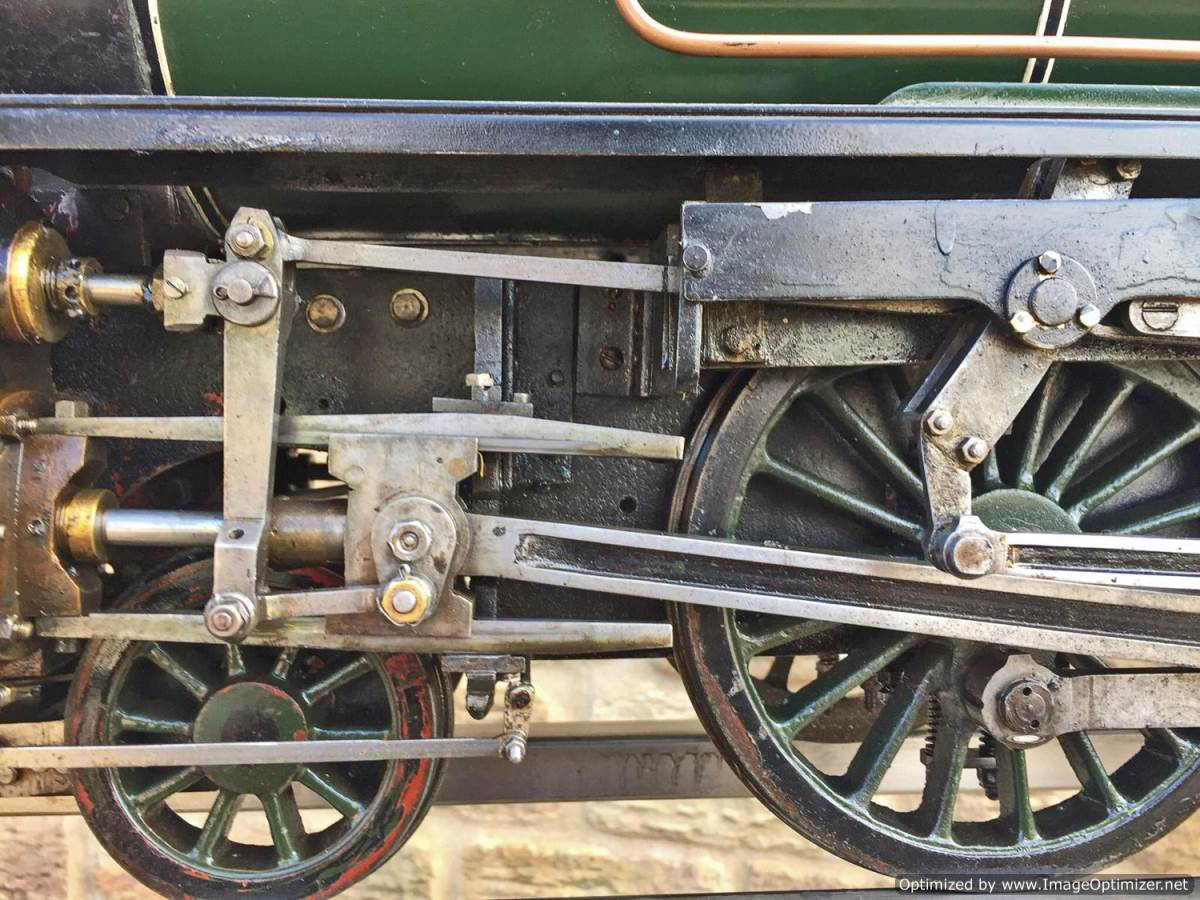 test 5 inch gauge Southern Railway King Arthur Live Steam for Sale (3)