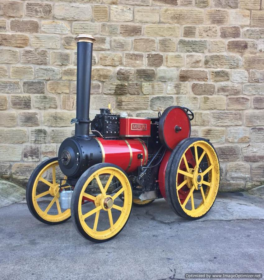 test 6 inch Tasker Little Giant Live Steam for sale (1)