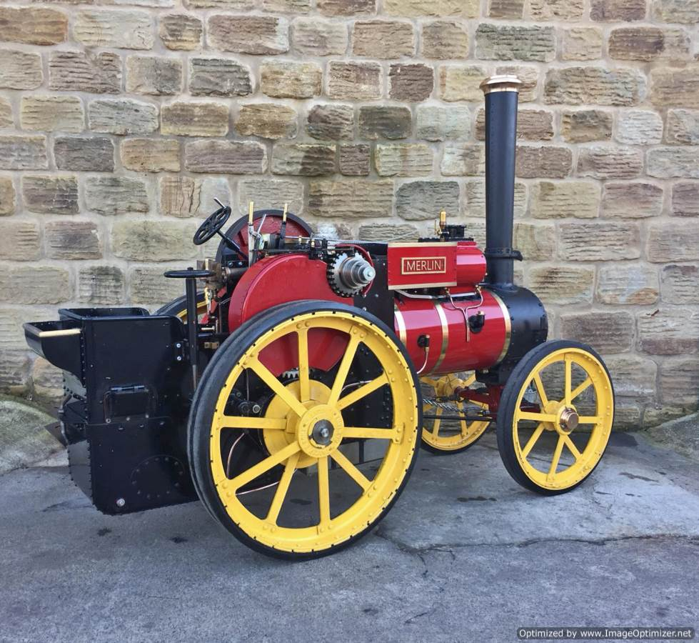test 6 inch Tasker Little Giant Live Steam for sale (11)
