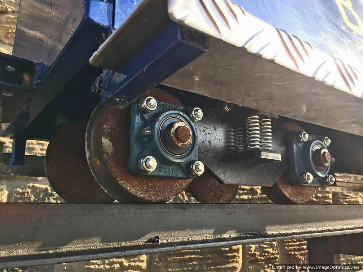 test 7 and a quarter inch riding truck live steam for sale (1)