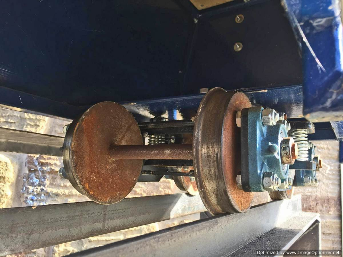 test 7 and a quarter inch riding truck live steam for sale (2)