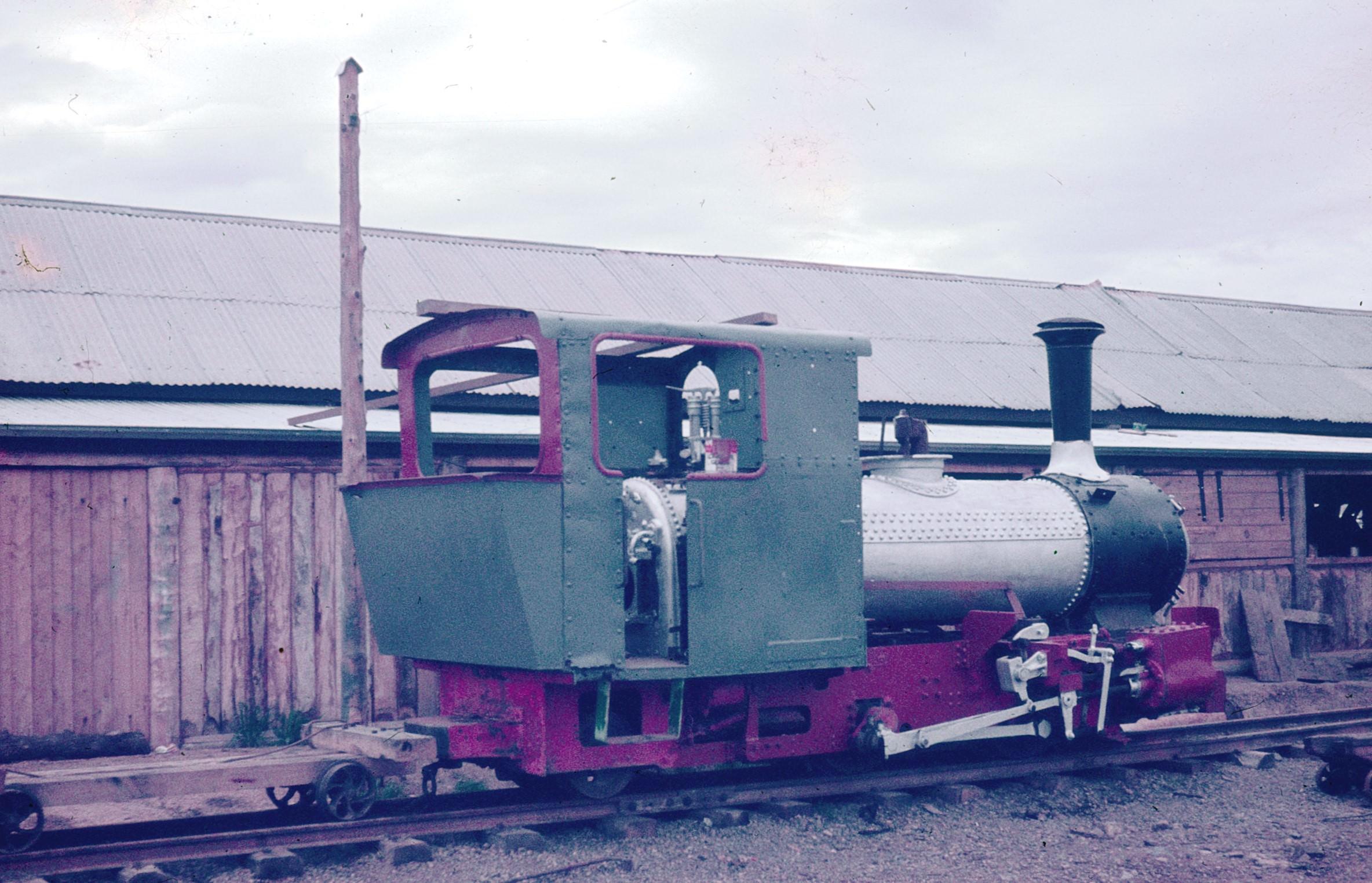 test 75082308007 Lachlan Vintage Village 0-4-2T JF 16341 J Browning