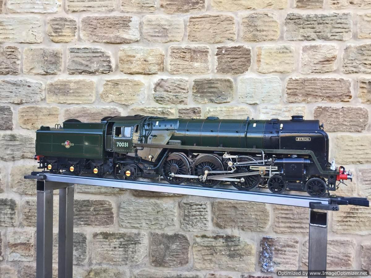 test 3 and a half inch Britannia live steam for sale Rebuild 20(1)