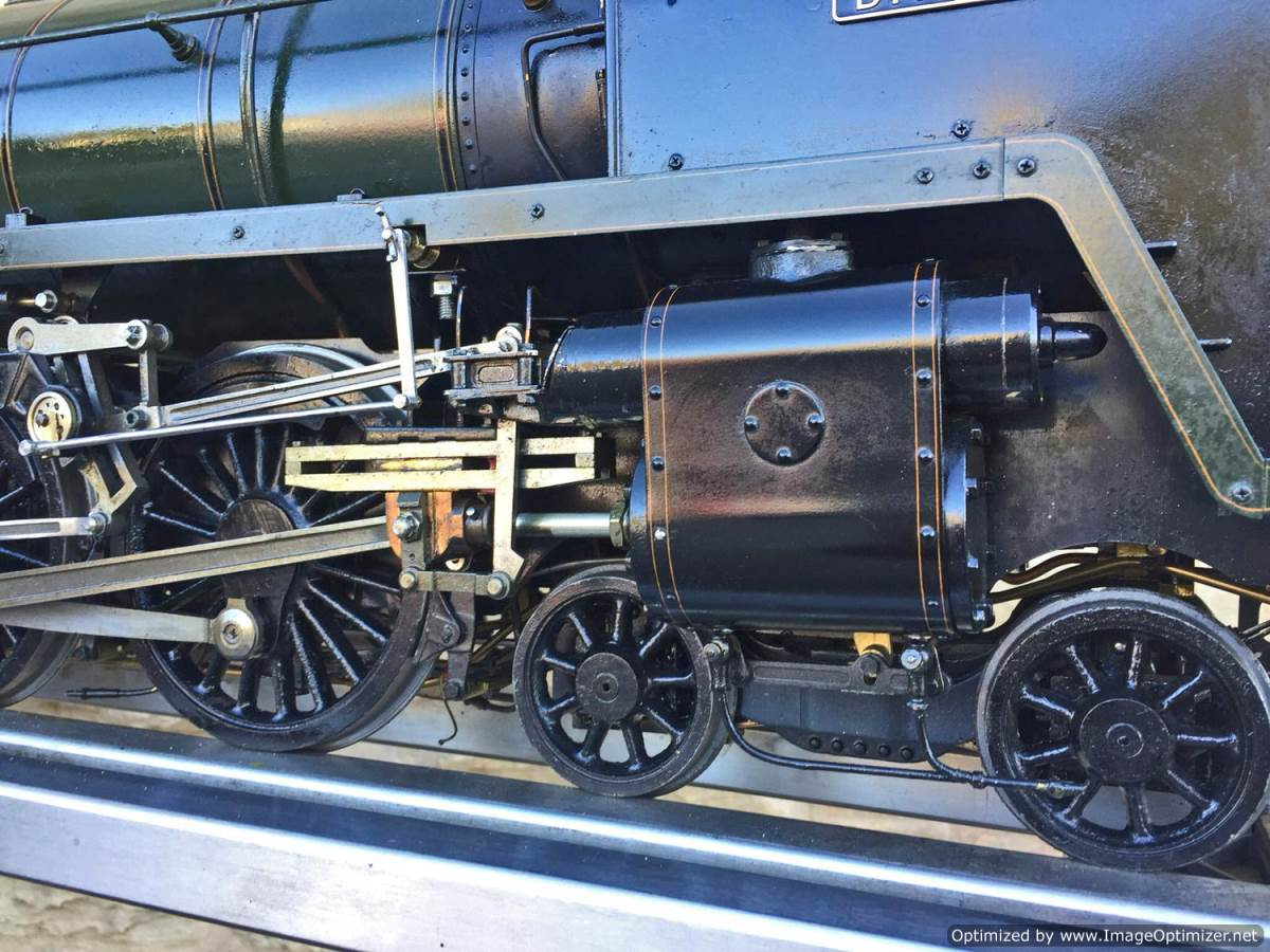 test 3 and a half inch Britannia live steam for sale Rebuild 20(2)