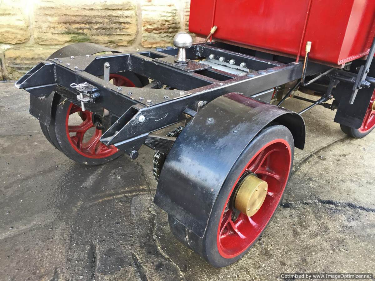 test 3 inch scale Clayton Undertype Live Steam Lorry for Sale (11)