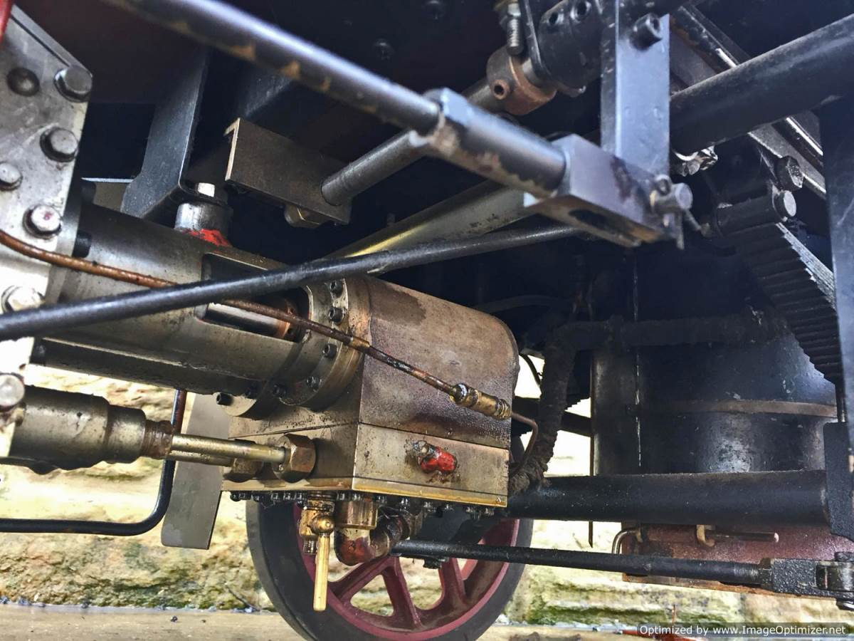test 3 inch scale Clayton Undertype Live Steam Lorry for Sale (12)
