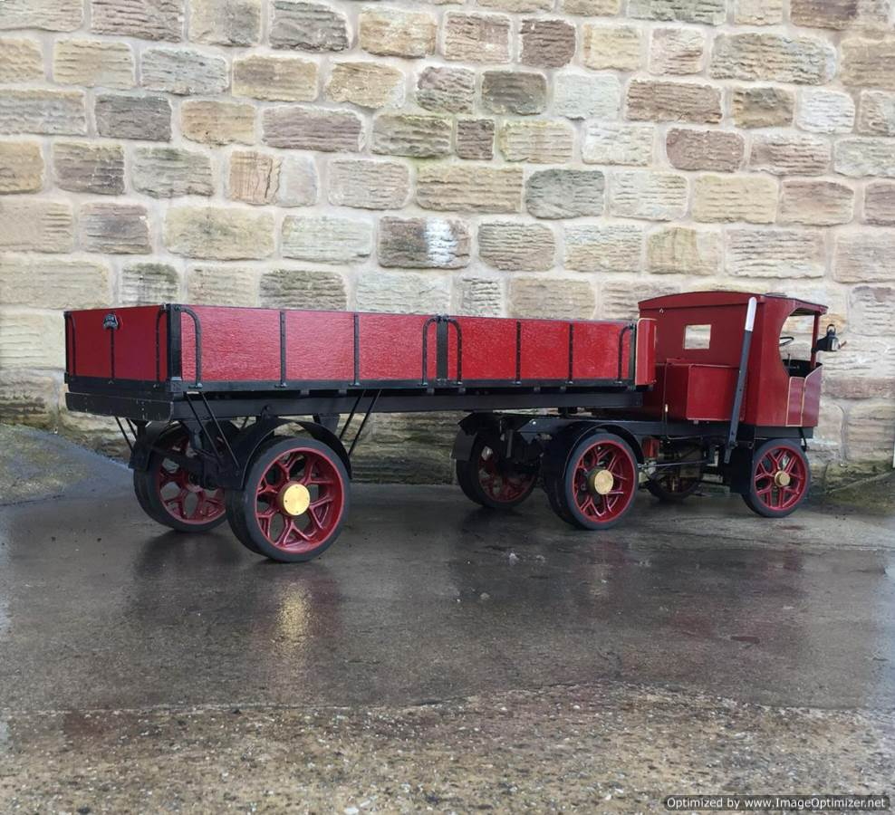 test 3 inch scale Clayton Undertype Live Steam Lorry for Sale (18)