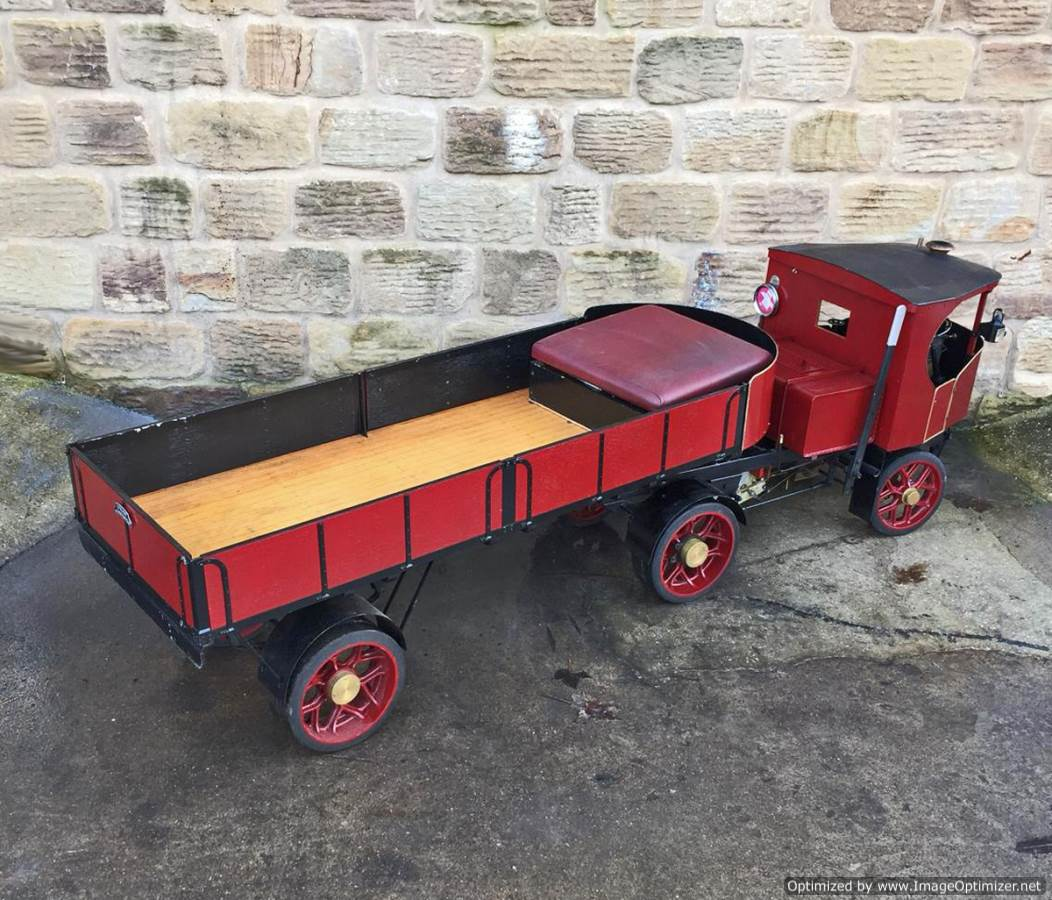 test 3 inch scale Clayton Undertype Live Steam Lorry for Sale (19)