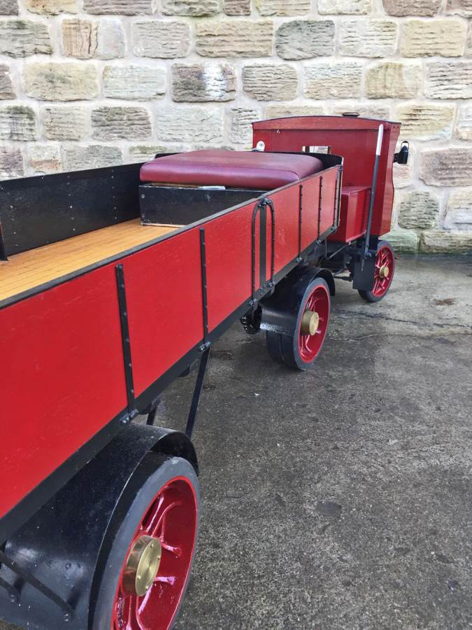 test 3 inch scale Clayton Undertype Live Steam Lorry for Sale (20)