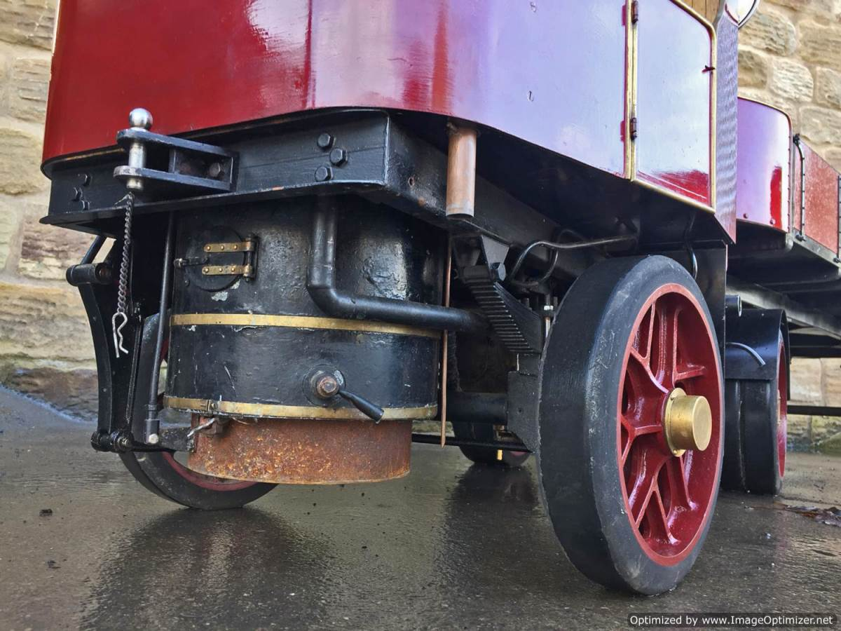 test 3 inch scale Clayton Undertype Live Steam Lorry for Sale (5)