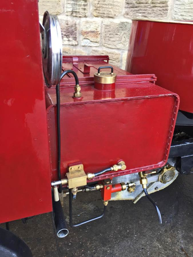 test 3 inch scale Clayton Undertype Live Steam Lorry for Sale (8)