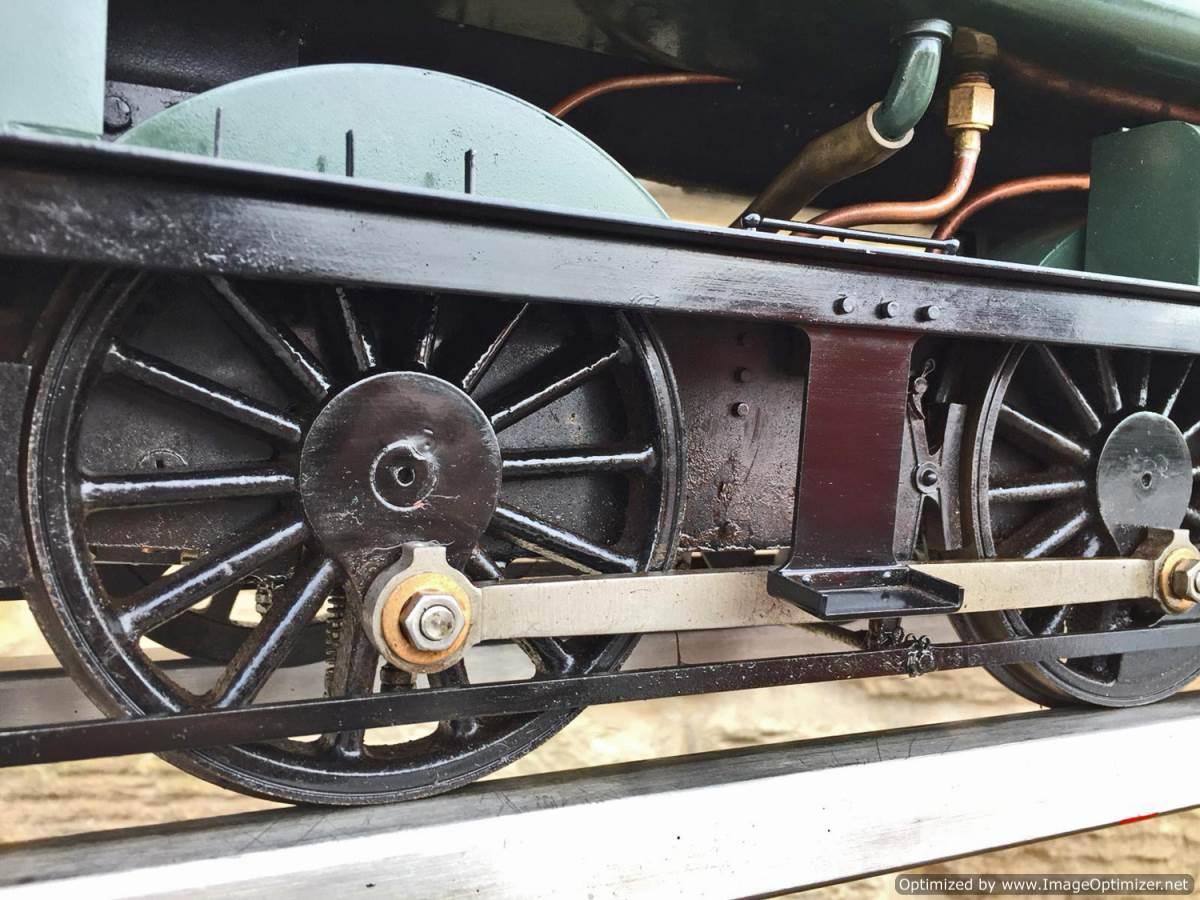 test 5 inch Gauge GWR 94xx Pannier Tank Live Steam for Sale (14)