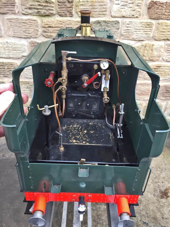 test 5 inch Gauge GWR 94xx Pannier Tank Live Steam for Sale (19)