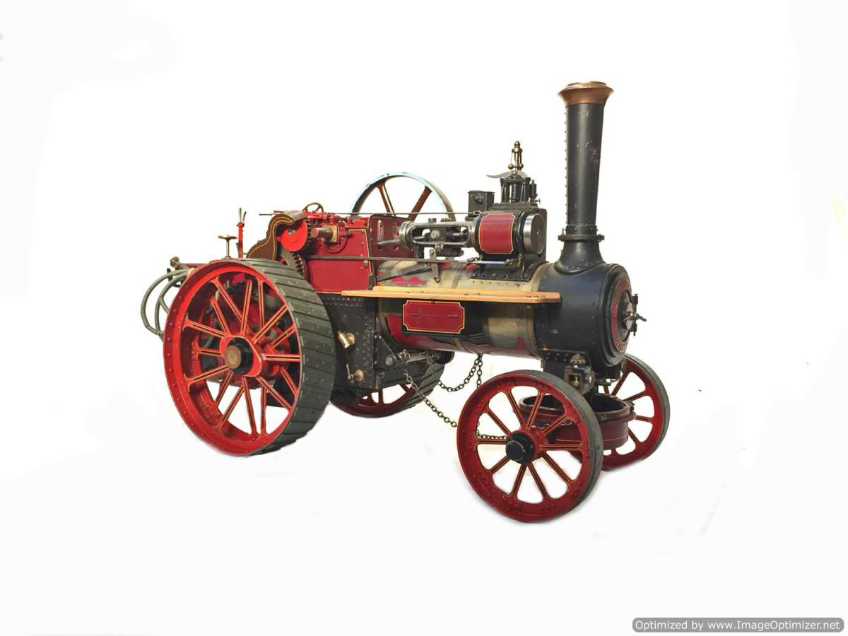 test 1 and a half inch Alchin Royal Chester live Steam for Sale (1)