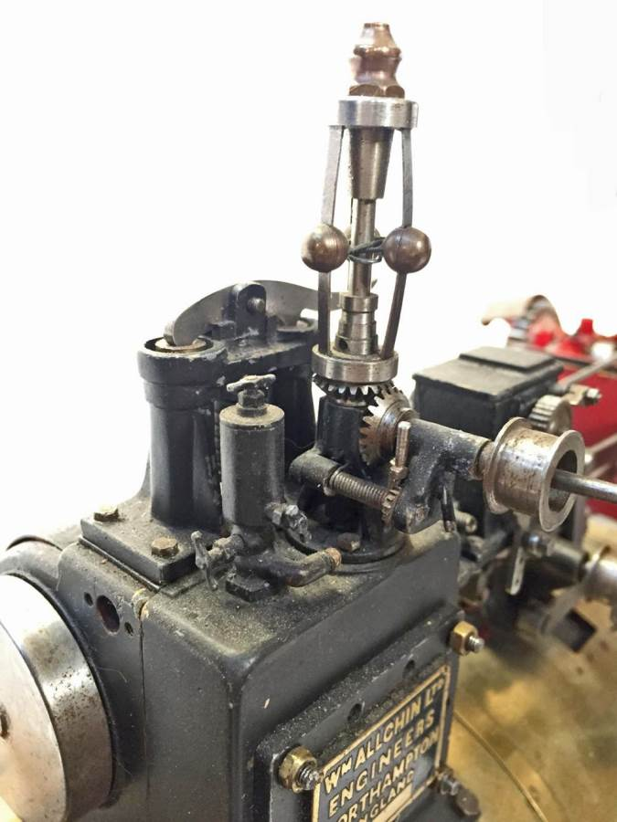 test 1 and a half inch Alchin Royal Chester live Steam for Sale (15)