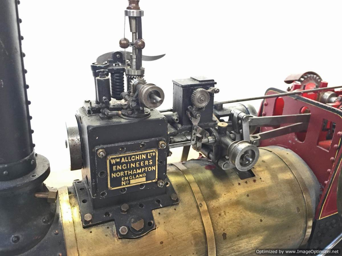 test 1 and a half inch Alchin Royal Chester live Steam for Sale (6)