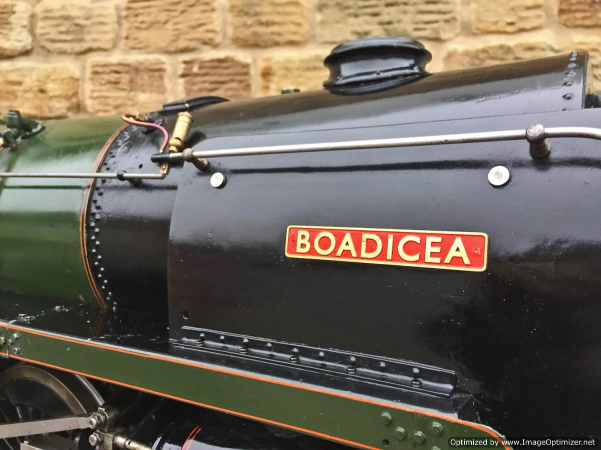 test 5 inch BR Britannia live steam for sale (2)
