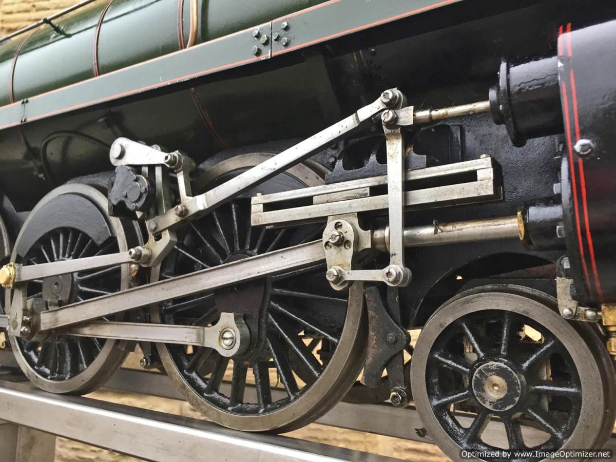 test 5 inch BR Britannia live steam for sale (4)