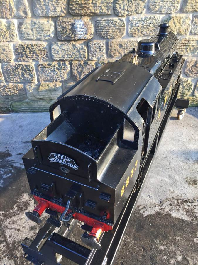 test 7 and a quarter gauge Fairburn Class 4 Tank Live Steam for sale (18)
