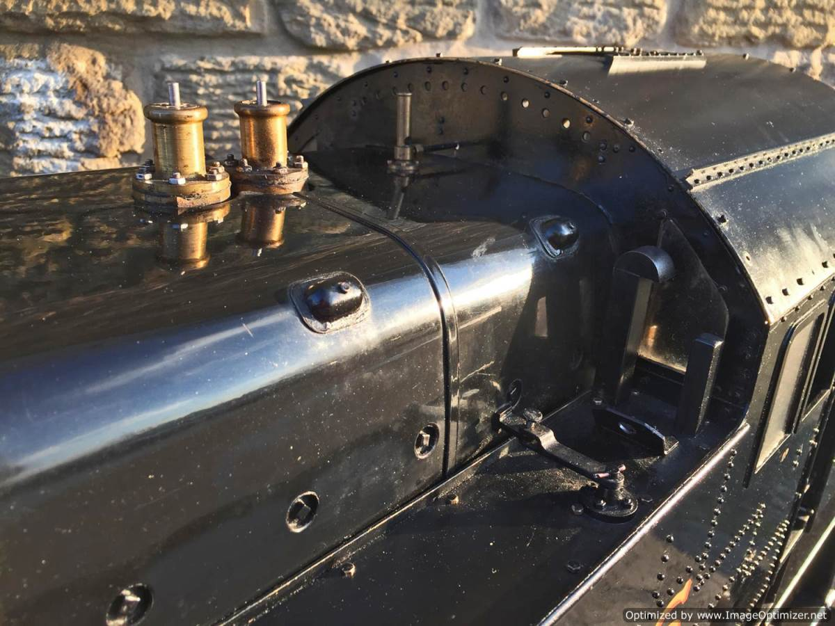 test 7 and a quarter gauge Fairburn Class 4 Tank Live Steam for sale (5)
