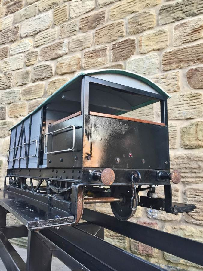 test 7 and a quarter inch GWR Guards Van (10)