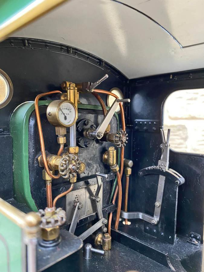 test 3 and a half inch SAR J Class live steam locomotive for sale (10)