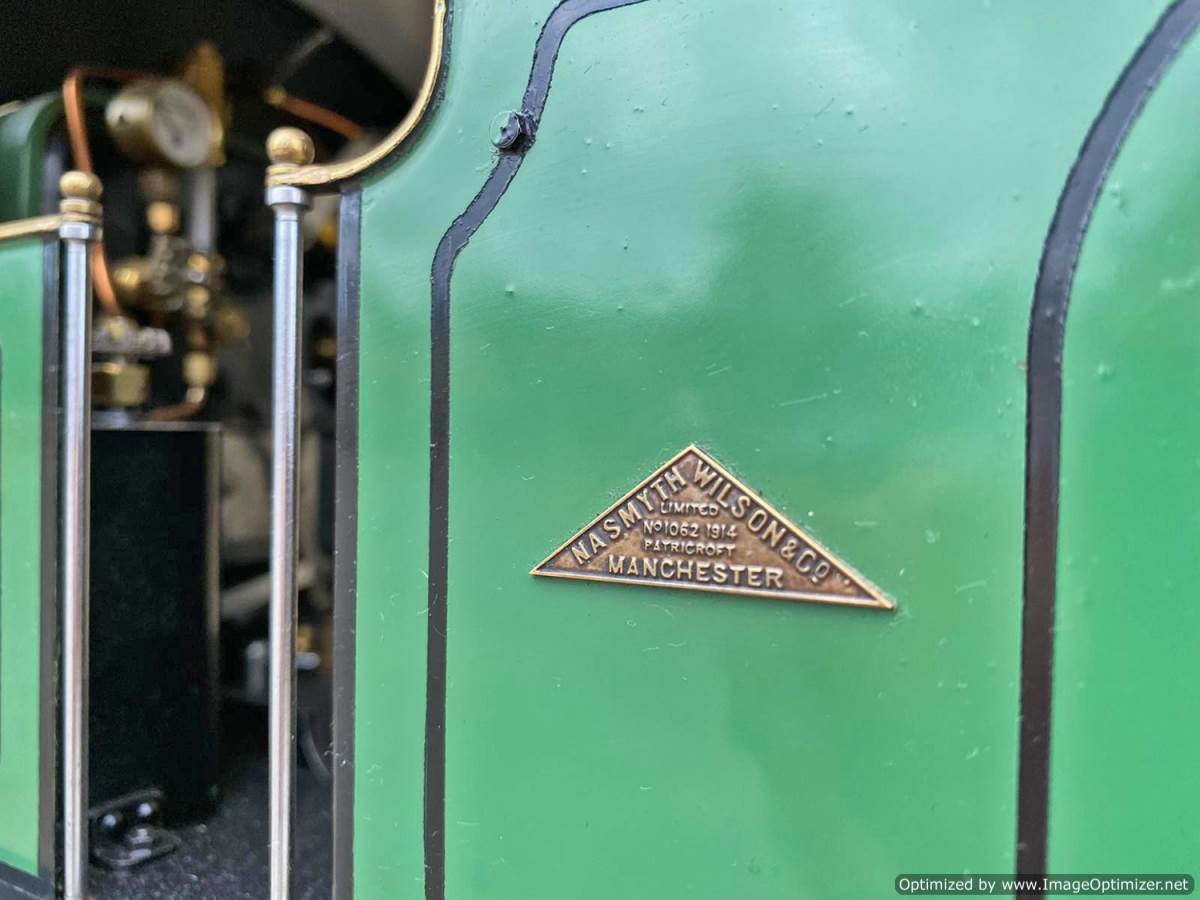 test 3 and a half inch SAR J Class live steam locomotive for sale (12)