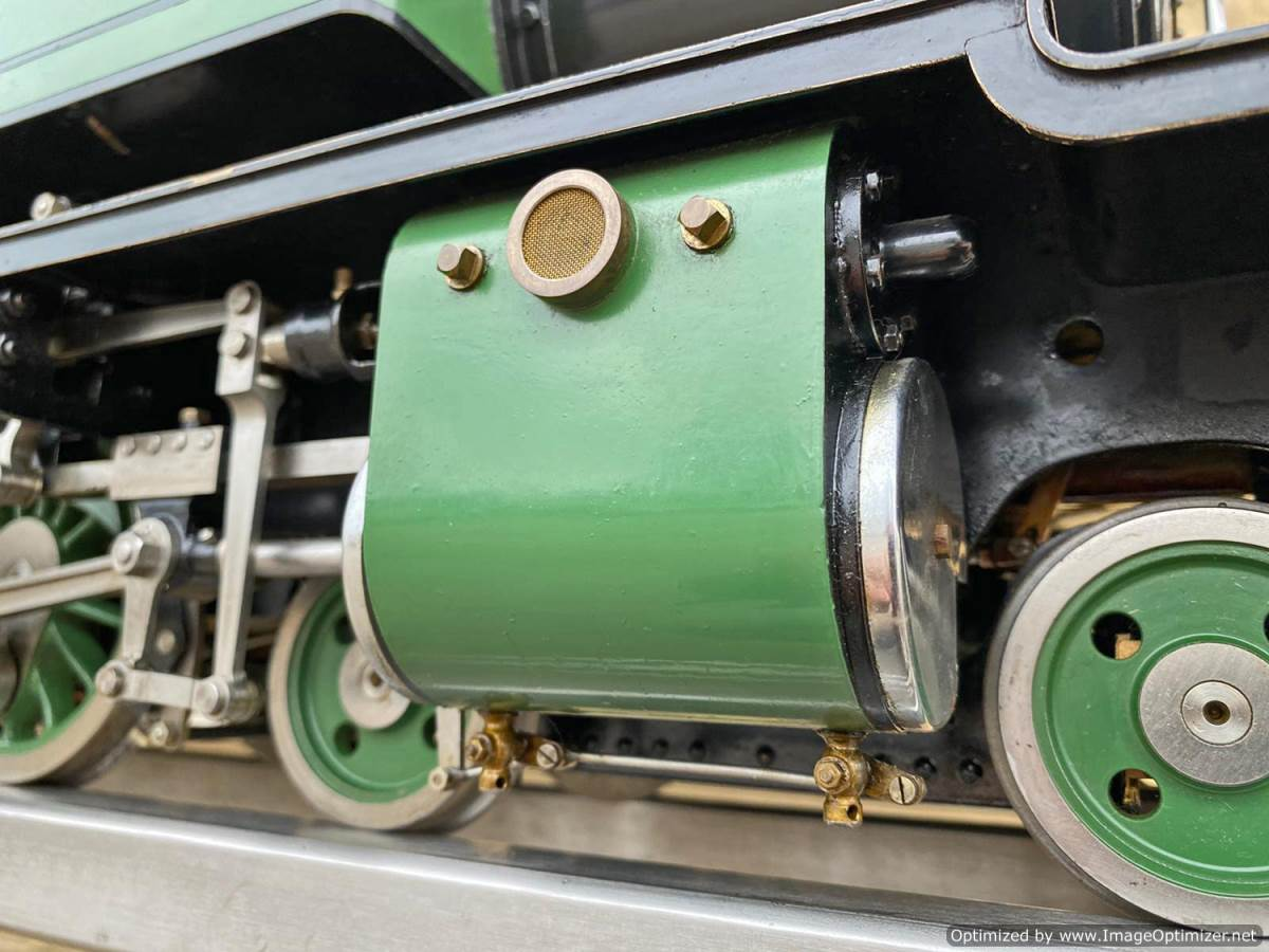 test 3 and a half inch SAR J Class live steam locomotive for sale (24)